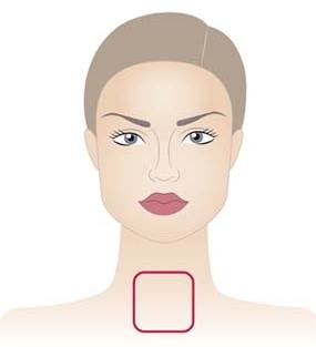 square shape neckline