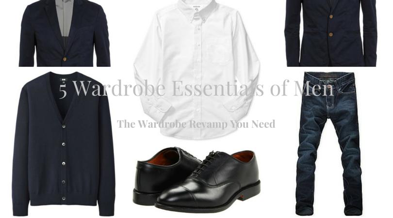 men wardrobe essentials
