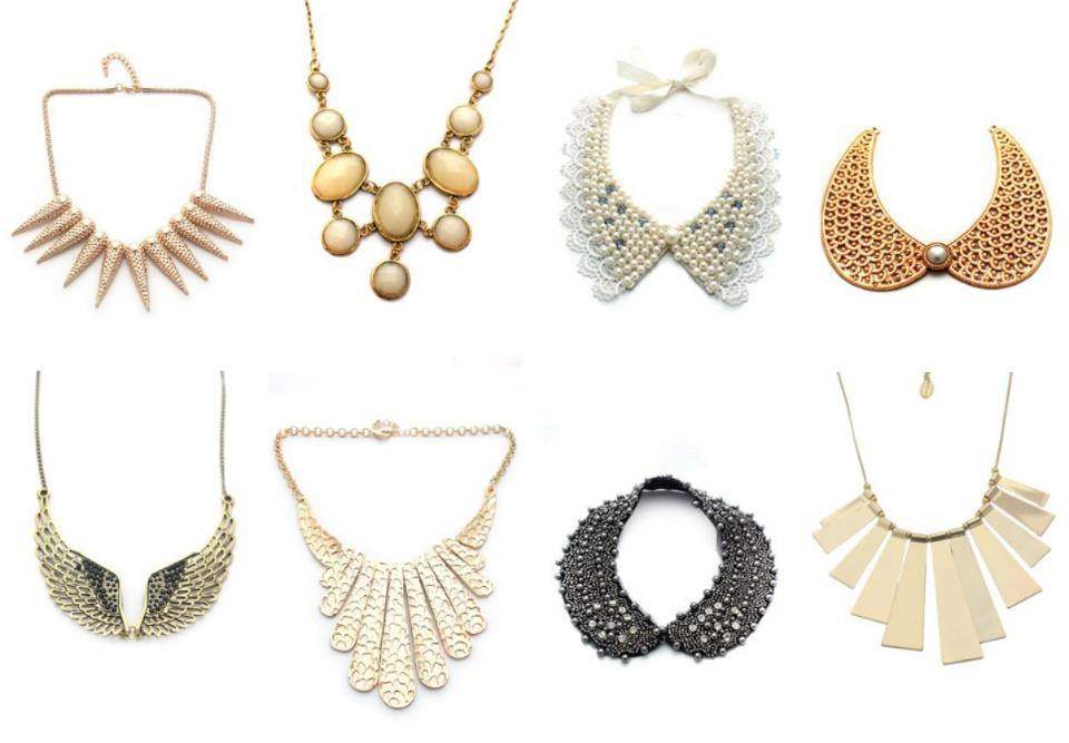 different necklace design