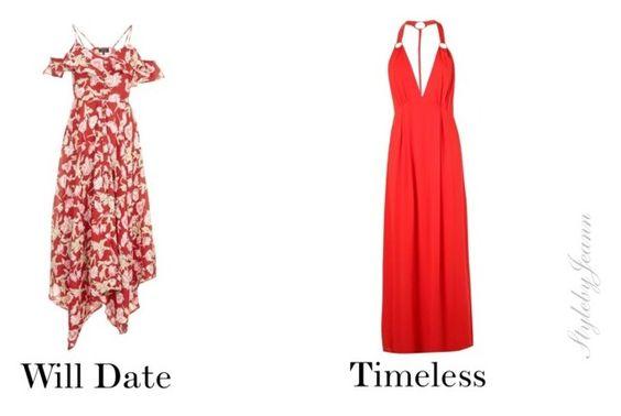 simple cut dress