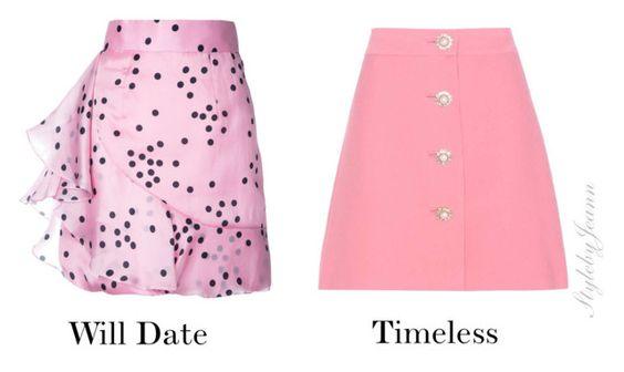 pink skirt fabric