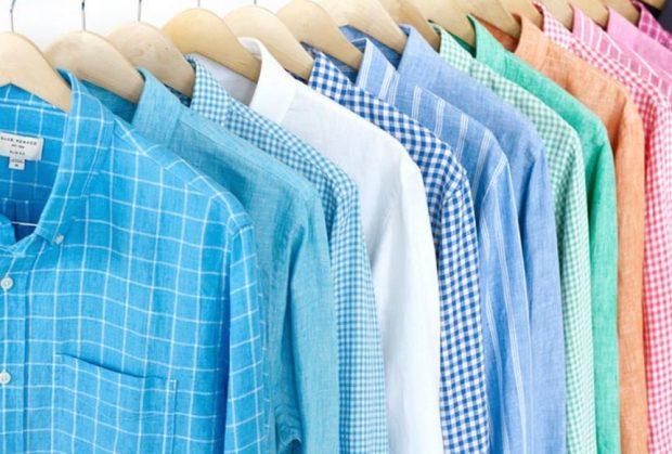colourful linen shirts