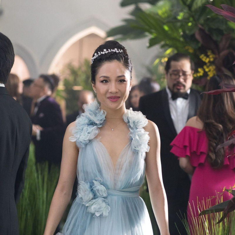 Constance Wu dress