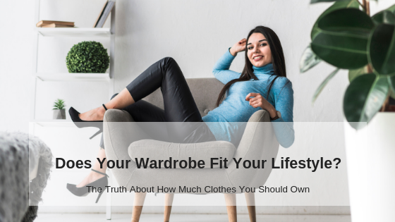 wardrobe and lifestyle with woman